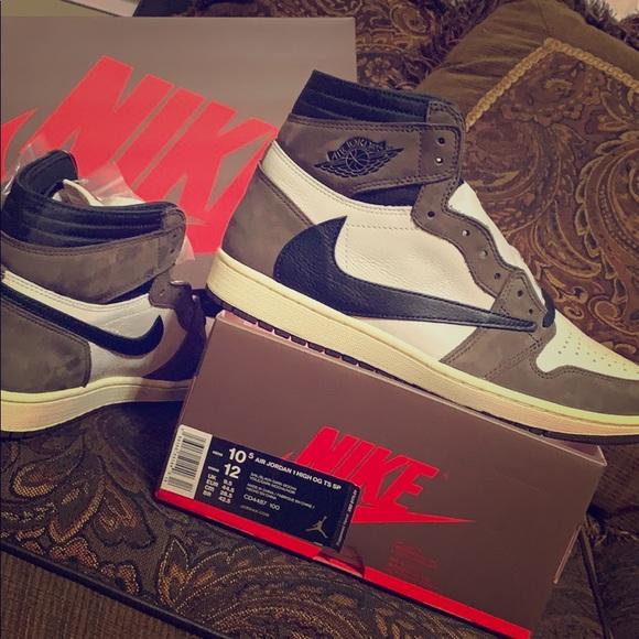 Nike Air Jordan 1 Travis Scott's Cactus Jack NWT